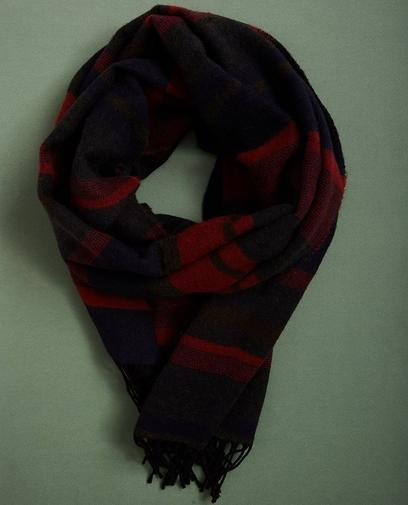 Gestreepte sjaal